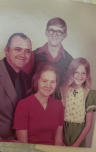 William and Betty Ikard with their kids