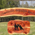 Shamballa Wildlife Rescue sign